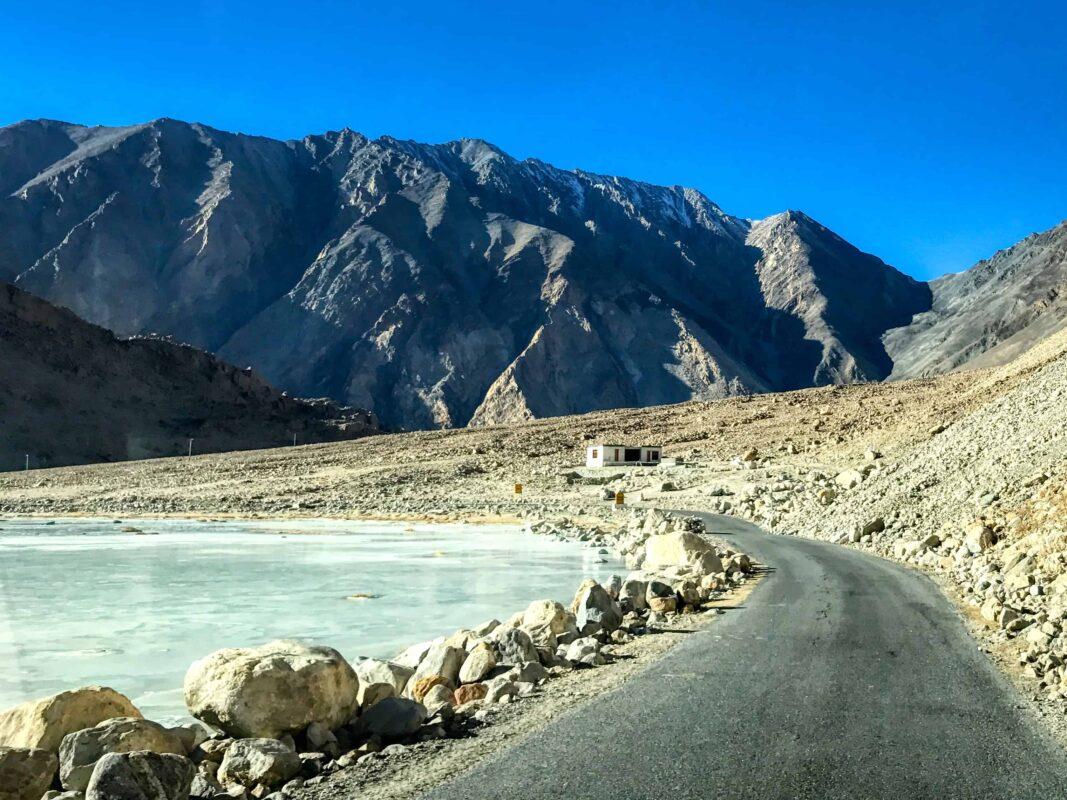 Road Trip from Leh to Pangong Lake Ladakh India travel 61