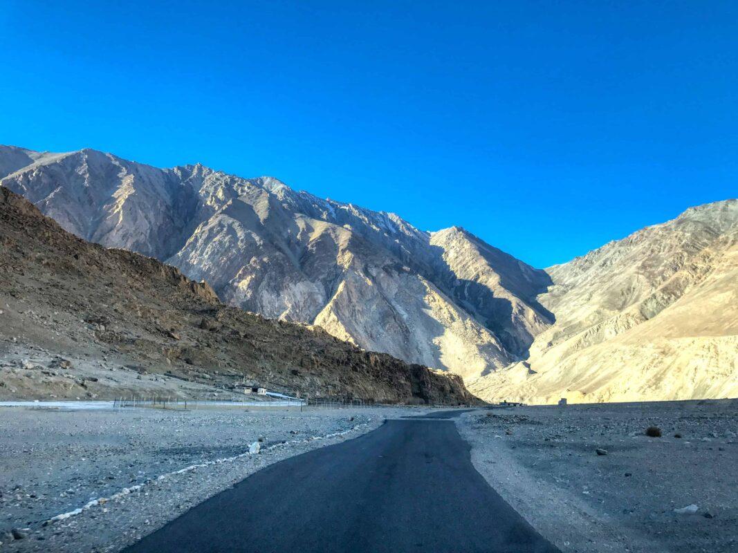 Road Trip from Leh to Pangong Lake Ladakh India travel 63