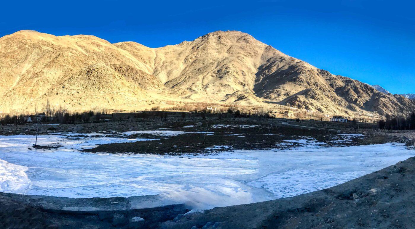 Road Trip from Leh to Pangong Lake Ladakh India travel 68