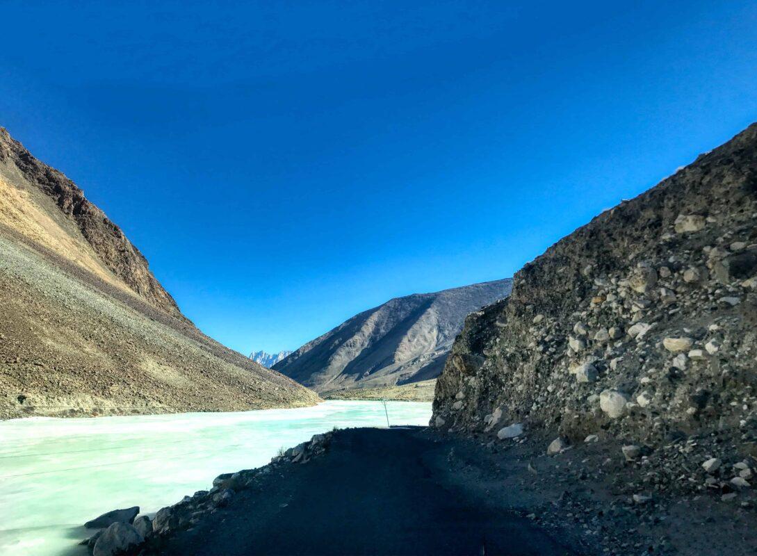 Road Trip from Leh to Pangong Lake Ladakh India travel 69