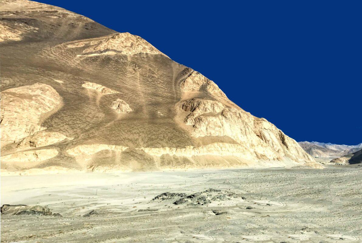 Road Trip from Leh to Pangong Lake Ladakh India travel 71