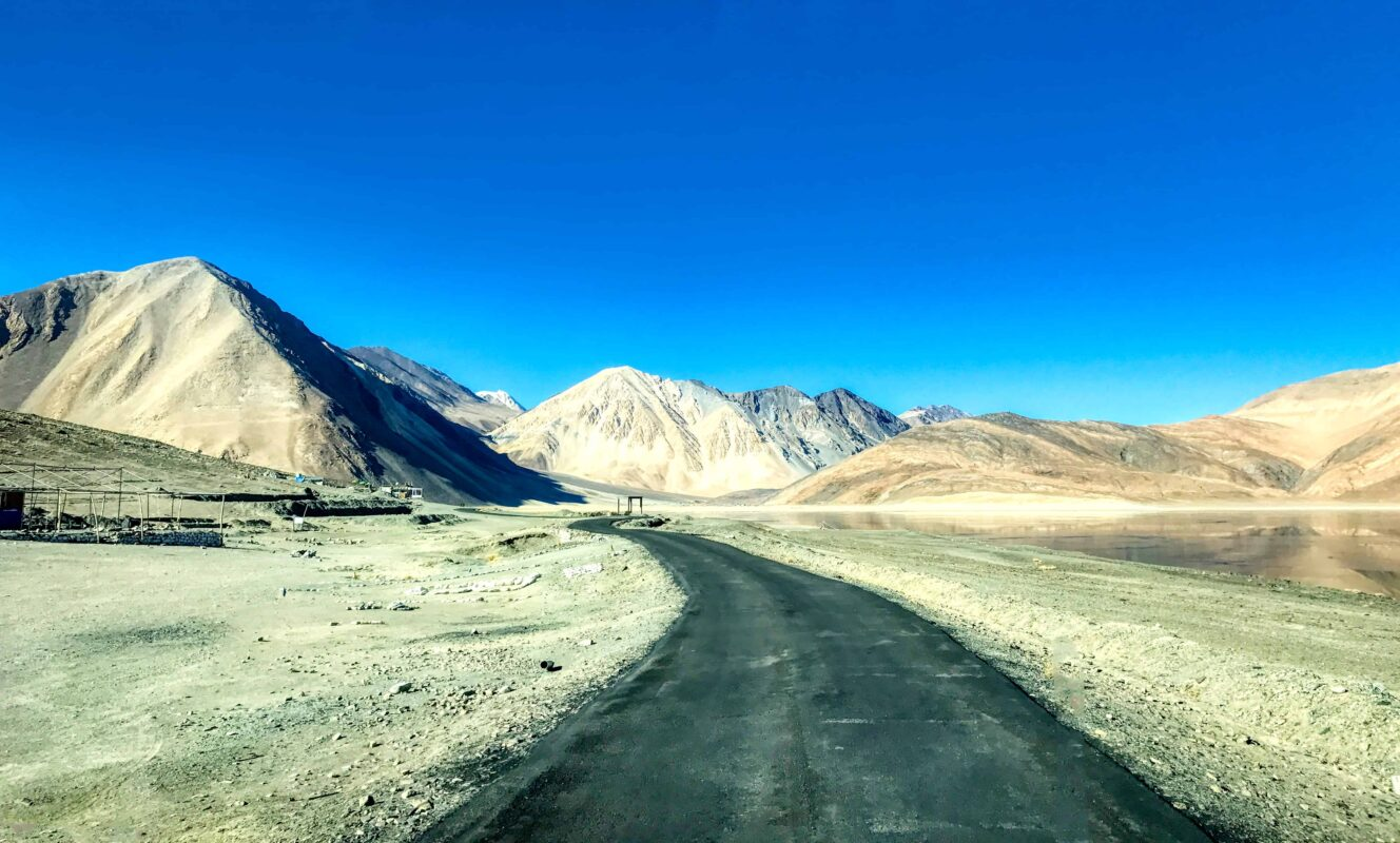 Road Trip from Leh to Pangong Lake Ladakh India travel 72