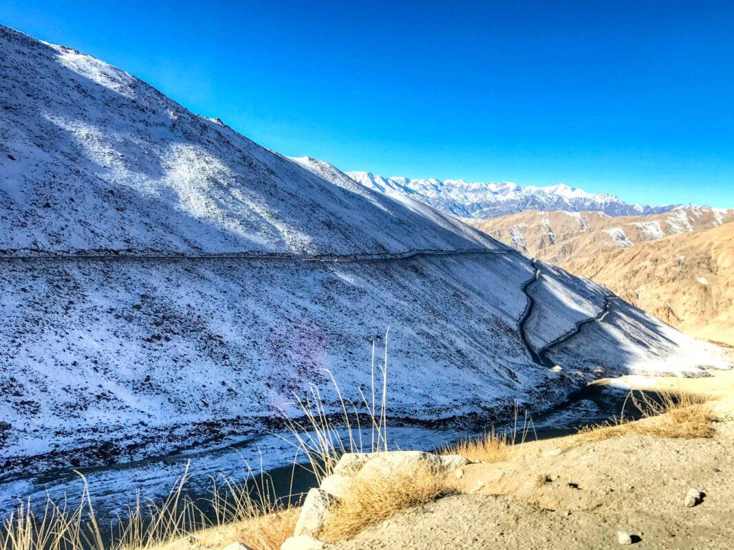 Road Trip from Leh to Pangong Lake Ladakh India travel 9
