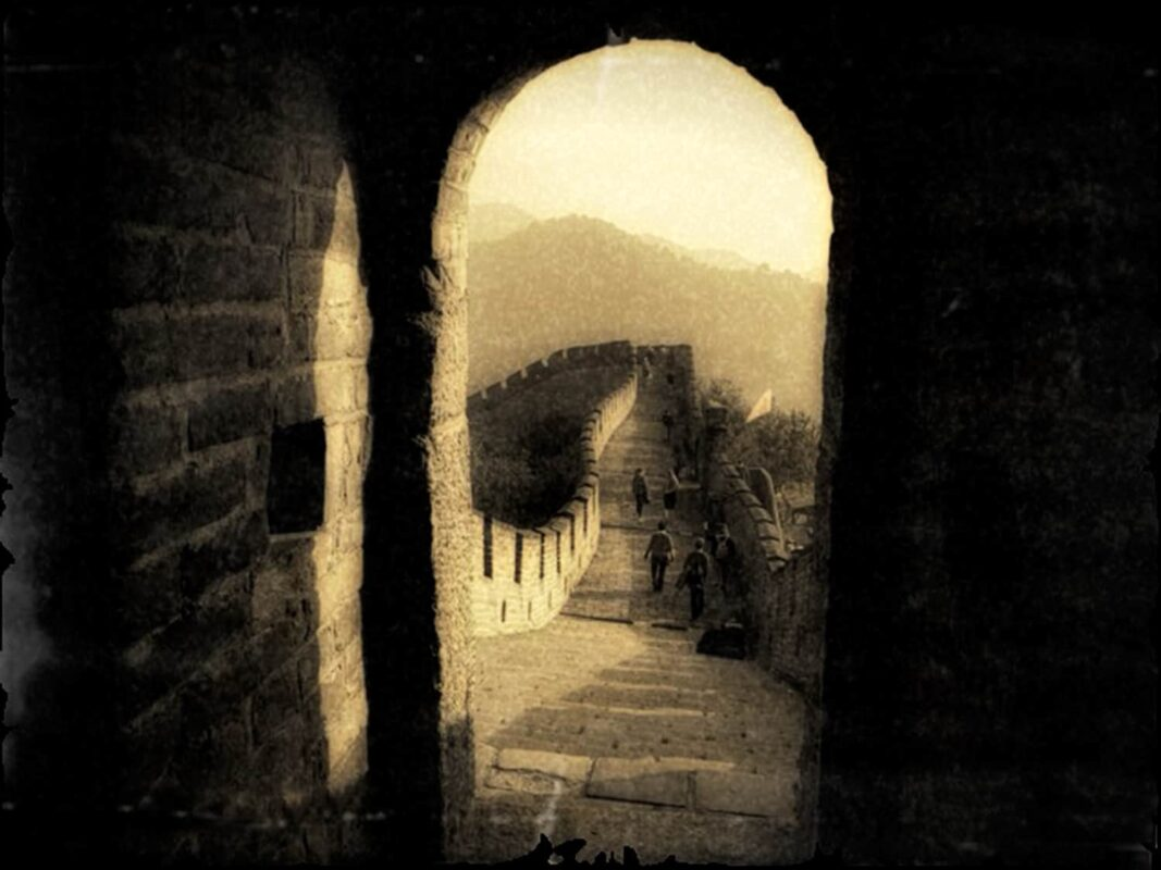 SEPIA PHOTOGRAPHY of great wall of china ART for Chinese Investor 11