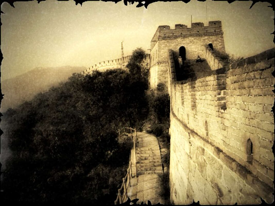SEPIA PHOTOGRAPHY of great wall of china ART for Chinese Investor 12