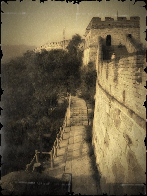 SEPIA PHOTOGRAPHY of great wall of china ART for Chinese Investor 13