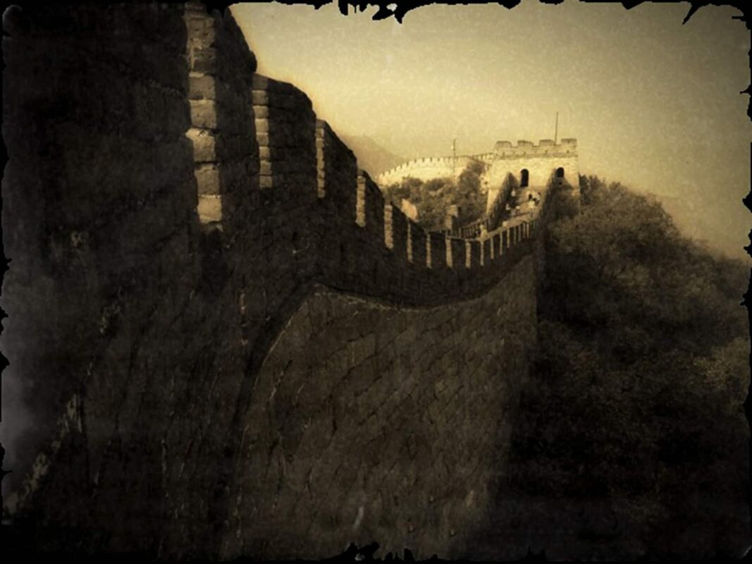 SEPIA PHOTOGRAPHY of great wall of china ART for Chinese Investor 7