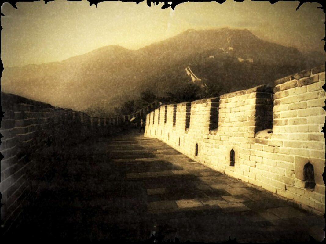 SEPIA PHOTOGRAPHY of great wall of china ART for Chinese Investor 9