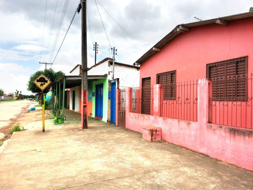 Streets in Casa Dom Inacio de Loyola Abadiania Brazil 12