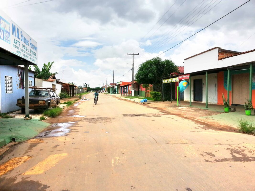 Streets in Casa Dom Inacio de Loyola Abadiania Brazil 13