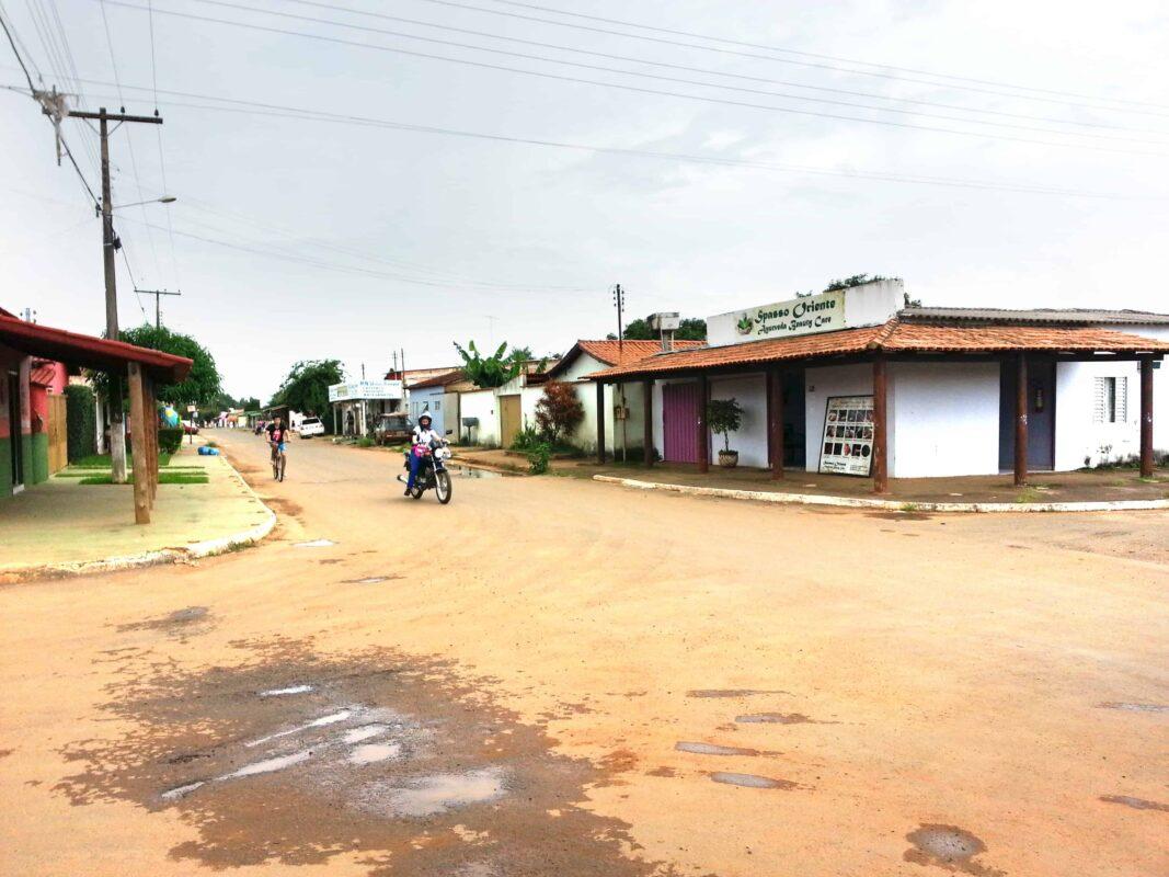 Streets in Casa Dom Inacio de Loyola Abadiania Brazil 14