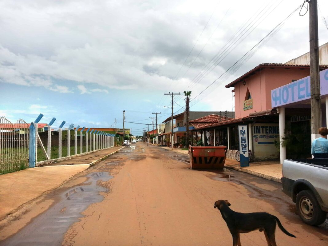 Streets in Casa Dom Inacio de Loyola Abadiania Brazil 3 1