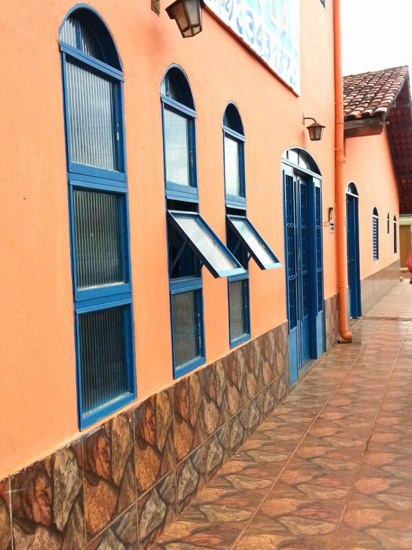 Streets in Casa Dom Inacio de Loyola Abadiania Brazil 54 1
