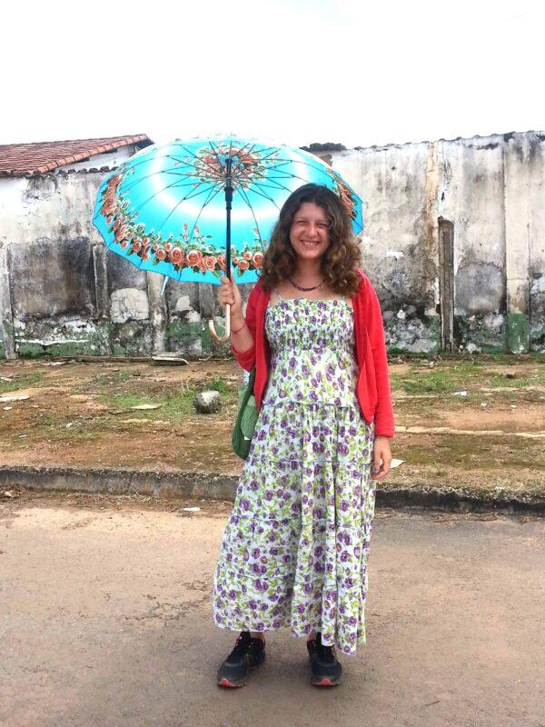 Streets in Casa Dom Inacio de Loyola Abadiania Brazil 7