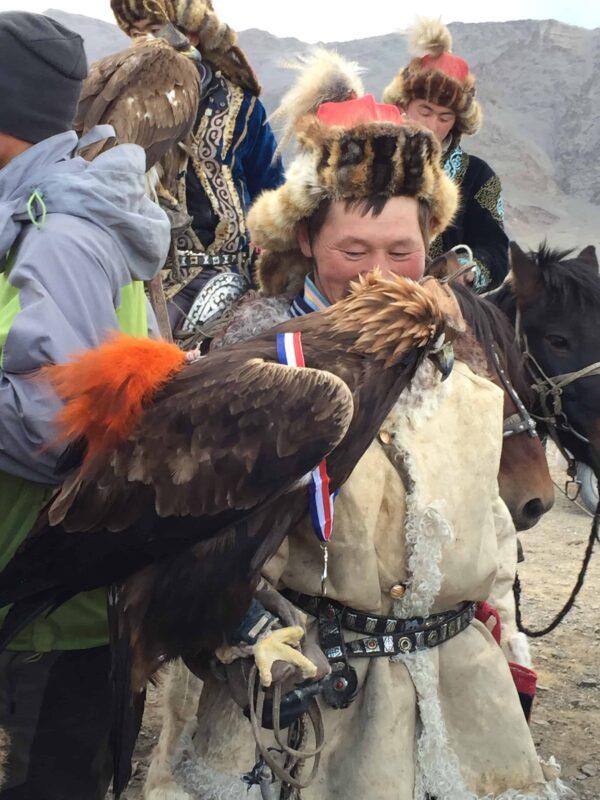 TRAVEL VISUAL DIARY EAGLE HUNTERS INSIDE NAADAM FESTIVAL 49
